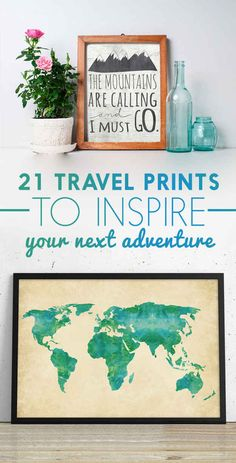 21 Beautiful Wall Prints For Travelers