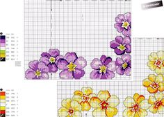 ponto-cruz-flores-punto-de-croce-fleur-20-500x400 78 gráficos de flores em ponto cruz para imprimir