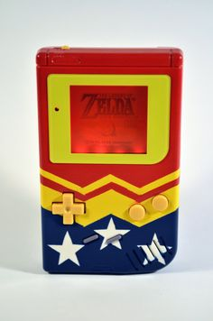 Wonder Woman GameBoy by FatalFilm