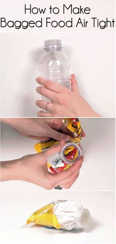 The Chocolate Chip Bag Hack