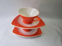 Vintage 2 Sets Streamline by Salem Orange and by GiddyNowVintage