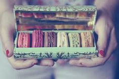 Macaroons in a box!