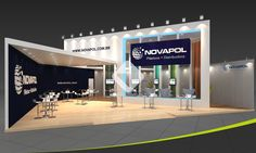 Booth NOVAPOL by Upstand Design