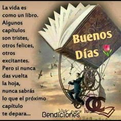 Good Morning Greetings, Good Morning Good Night, Spanish Greetings, Cursed Child Book, Inspirational Thoughts, Quotes About God, Jehovah, Morning Quotes, Karma
