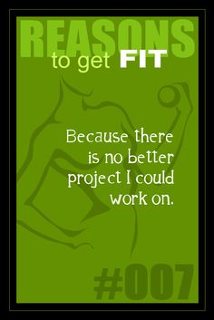 365 Reasons to Get Fit - #007