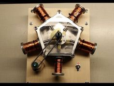 Radial Solenoid Engine is Undeniably Cool | Hackaday