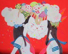 shinjurou: #school #kawaii #japan #uniforme #girl #dream #draw #illustration #colorful 積み上げた信頼関係ほど建前なことが多いと知ることで、初めて本音が | inoha