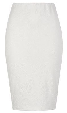 Primark SS13 White Pencil Skirt, £10