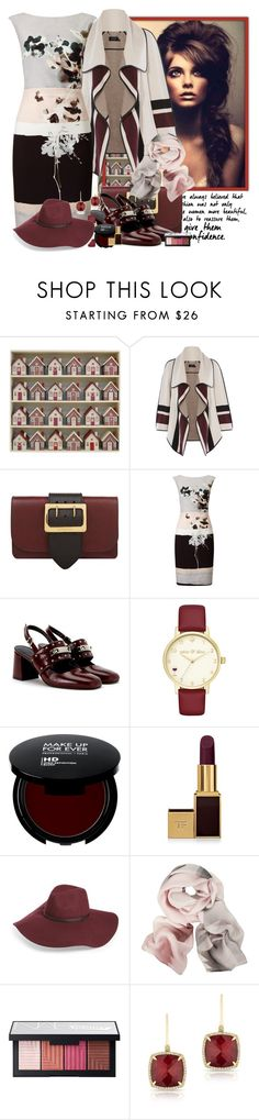 """""""confidence :)"""" by zanet ❤ liked on Polyvore featuring East of India, Karen Millen, Burberry, Phase Eight, Kate Spade, Tom Ford, Halogen, Ted Baker, NARS Cosmetics and Anne Sisteron"""