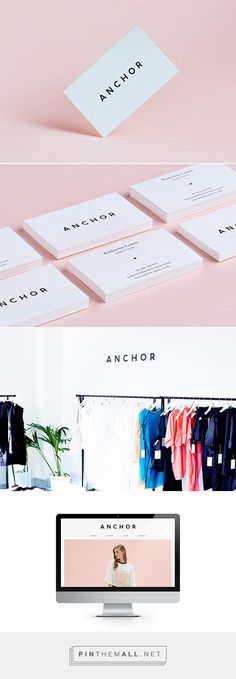 Anchor Agency Identity By Ross Paxman On Behance