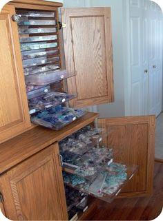 bead  jewelry parts organization