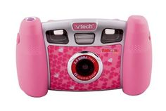 Get snapping with Kidizoom Plus! A 2 mega pixel camera with zoom: take video clips, play through 5 different games and edit and enhance your photos with fun Christmas Toys For Girls, Pink Camera, Educational Robots, V Tech, Perfect Camera, Kids Class, Pink Kids, Toddler Toys, Fujifilm Instax Mini