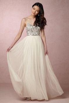 BHLDN-Anthropologie-Venus-Wedding-Winter-Princess-Gown-BNWT-Beading-SM