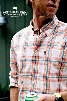 Our men's casual and dress shirts are perfect for any guy's style. Made to keep you cool, these short sleeve and long sleeve button up shirts will carry you right through winter into spring. Outfit yourself in fashion for the rugged gentleman. Casual Shirts For Men, Men Casual, Casual Professional, Outdoor Wear, Best Gifts For Men, Men's Shirts, Fishing Shirts, How To Roll Sleeves, Flannel Shirt