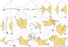 origami dog :)