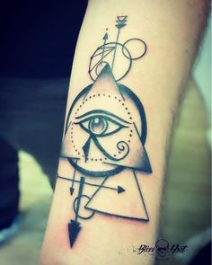 Smart Egyptian Tattoos Ideas That Will Blow Your Unique Tattoo Designs, Unique Tattoos, Symbolic Tattoos, Small Tattoos, Osiris Tattoo, Ankh Tattoo, Eye Of Ra Tattoo, All Seeing Eye Tattoo, Dope Tattoos
