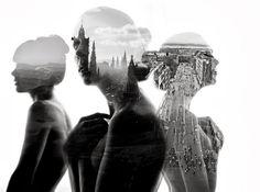 Double Exposure by Aneta Ivanova