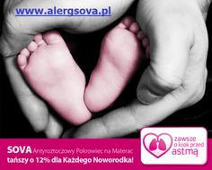 """Fundacja """"Zawsze o krok przed Astmą"""" w ramach swoich zadań statutowych jest zainteresowana upowszechnieniem profilaktyki antyroztoczowej, w tym prewencji pierwotnej czyli zapobieganiu powstaniu uczulenia u Wszystkich Dzieci Zagrożonych Alergią. Alergia u noworodka i alergia u niemowlaka to niesamowicie ważne tematy w aspektach możliwej profilaktyki, niestety wciąż wymagające nagłośnienia. #astma #alergia #noworodek #dziecko"""