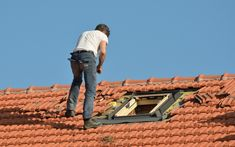 isn't always a major job, and it can be as small as sealing a hole, removing a few tiles or fastening down Colorbond sheets. Pose Velux, Roofing Services, Roof Tiles, Roof Repair, Sydney, Restoration, Outdoor Blanket, Construction, Poses