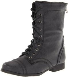 Steve Madden Jcablee Lace-Up Boot (Little Kid/Big Kid),Black,13 M US Little Kid Steve Madden. $59.95