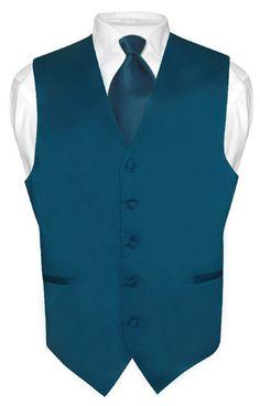 Men's Tuxedo Vest Set 4 Pieces