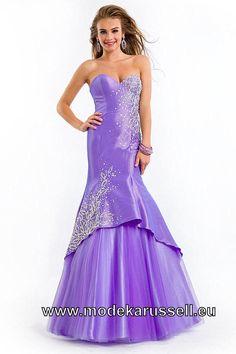 Tafft Meerjungfrau Abendkleid Online