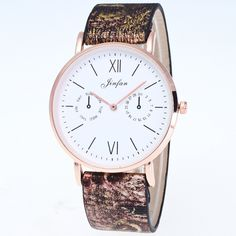 High-quality fashion without second Watch leisure boys and girl students pin buckles pu leather strap round lady quartz watches //Price: $0.00 & FREE Shipping // #ootd #style #accessory  #stylish #cute