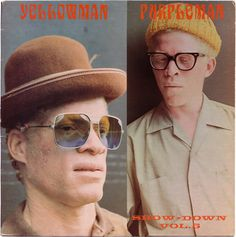 yellowman_purpleman by skengbubbler, via Flickr