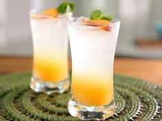 Try this recipe for Peach Sparkler from Kimberly's Simply Southern featured on GAC!