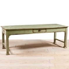 Painted Farm House Dining Table, c.1900