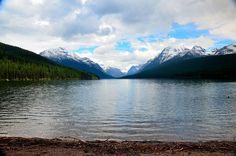 Glacier National Park - Bowman Lake, my favorite spot in the park. We always spend at least one day here.