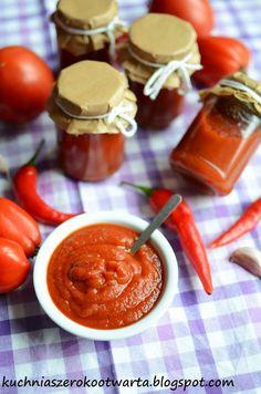 Kuchnia szeroko otwarta: Domowy ketchup