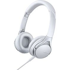 Buy Sony MDR-10RC On-Ear Headphones - White at Argos.co.uk - Your Online Shop for Limited stock Technology, iPod and personal audio, Headphones and earphones.