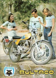 Bultaco Promo, Spain 80s. Merci Sly.