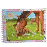 image Carnet Atelier de création chevaux KONIX