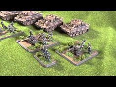 Flames of War - Tigers and Falschrimjagers