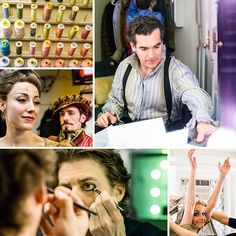 Go behind the scenes at the Tony-nominated new musical SOMETHING ROTTEN! #pinoftheday