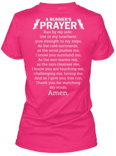 A Runner's Prayer