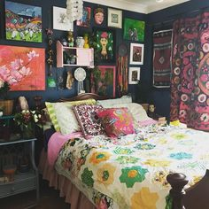 The Biggest Myth About Bohemian Decor Exposed - Pecansthomedecor Bohemian Bedroom Design, Bohemian Decor, Bohemian Bedrooms, Bedroom Designs, Home Bedroom, Bedroom Decor, Modern Bedroom, Bedroom Balcony, Dream Bedroom