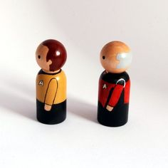 Star trek- they're kind of like our wedding cake toppers!