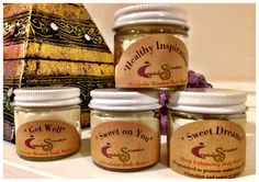 New Age Mama: Have Sweet Dreams or Attract Love or Boost Your Immune System With Crystal-Sensation Body Buff & Butter - #Giveaway