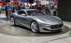 The Maserati Alfieri concept
