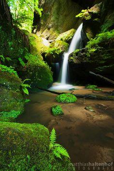 Small Amselfall, Saxon Switzerland National Park.
