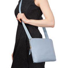 Molton Leather Cross Body Bag - Lido | KNOMO