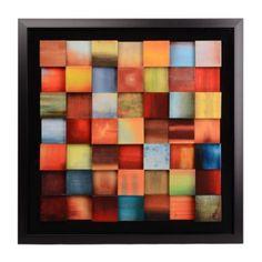 Sunrise Blocks Framed Art Print | Kirkland's