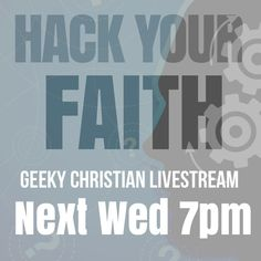 I've been asked to share next week in San Diego about some faith building lifehacks. It's my first time speaking anywhere about Geeky Christian. PLEASE PRAY that God makes it a success and that people will be willing to try out the ideas I will be sharing. I'll be showing how you can use your mobile devices to grow in your walk with God. Many of the ideas are free if you already have a smart phone. They will be live-streaming the event. In USA event is Wed. Sep. 25 7pm west coast / 10pm…