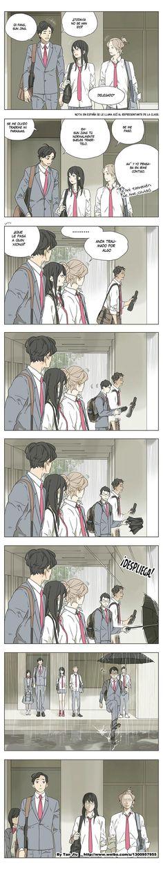 Manga Their Story - Tamen De Gushi   Capítulo 4 Página 11