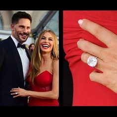 Her engagement ring is just as stunning as the couple! Sofia Vergara's ring is another one of our celebrity favourites! #sofiavergara #celebrityengagementrings #celebrities #PheraDiamonds #DiamondDealsJewellery #DiamondDealsCanada #DiamondDeals #VancouverBC #SurreyBC #CalgaryAB #custommade #handcrafted #engagementrings #engagement #engaged #justengaged #weddingbands #weddings #marriage #justmarried #loosediamonds #GIAcertified #beautifuldiamonds #diamondbrokers #Vancouverbrokers #yvr