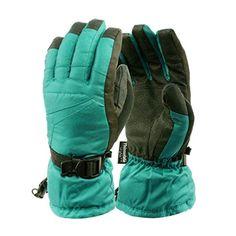 Ladies Winter Premium Waterproof Thinsulate 3M Warm Snow Ski Gloves Medium Mint - Brought to you by Avarsha.com