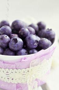 purple things...blueberries